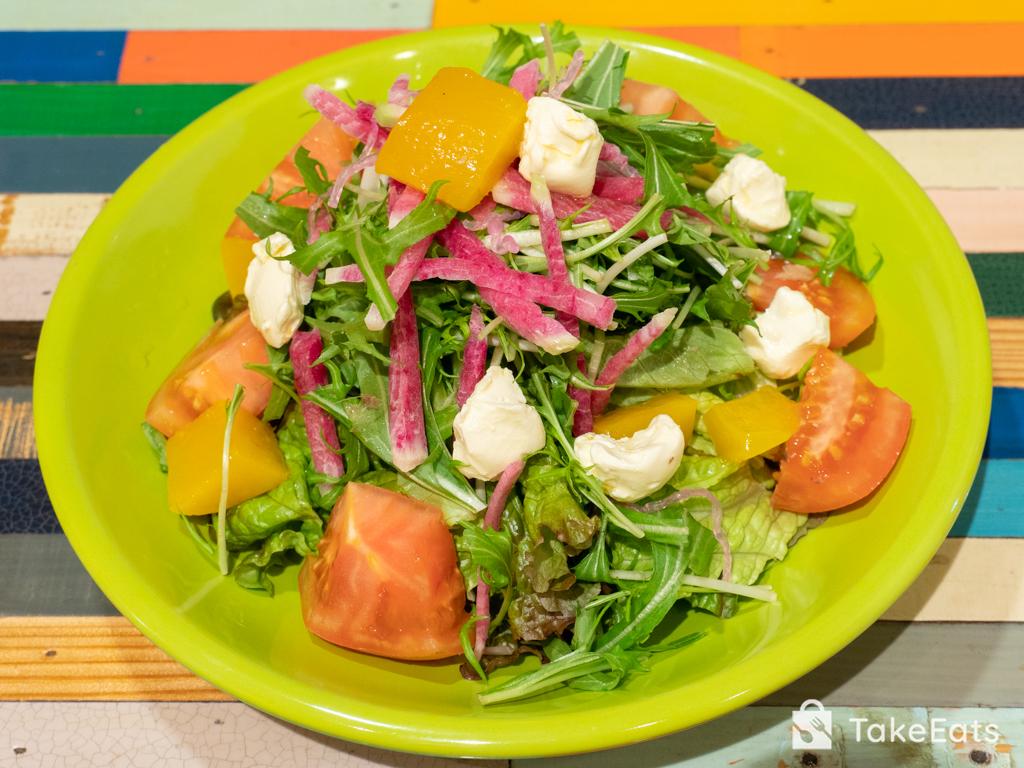 マンゴーとクリームチーズの一期一会サラダ